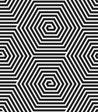 Hexagons texture  Seamless geometric pattern  Vector illustration  向量圖像
