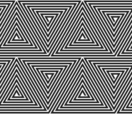 Vector triangular texture. Seamless geometric pattern.