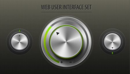 Web User Interface Set