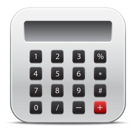 Vector calculator icon Stock Vector - 21571966