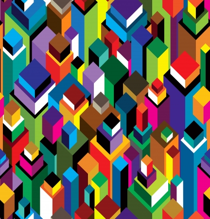 Seamless geometric pattern with triangles. Can be used in textiles, for book design, website background.