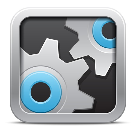 interface menu tool: Vector Settings icon