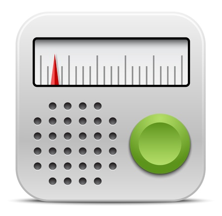 Vector radio icon Stock Vector - 21572018