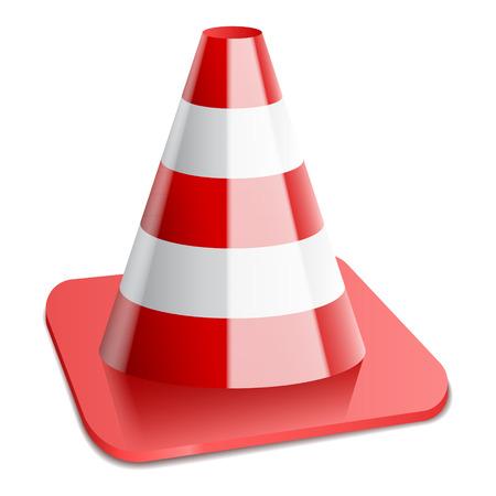 illustration of traffic cone