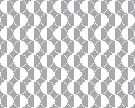 Seamless geometric vector pattern background Illustration
