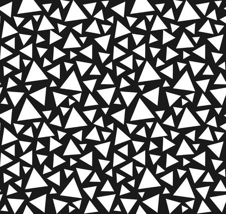 Seamless triangle pattern  向量圖像