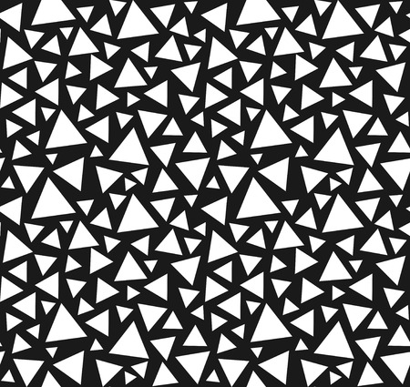 Seamless triangle pattern  Illustration