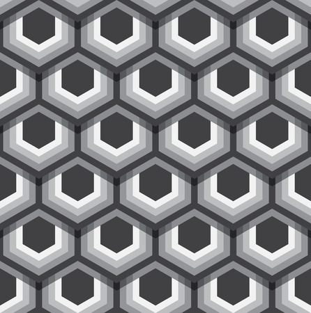 Hexagons texture.   Illustration