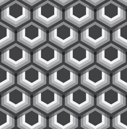 Hexagons texture.   Illustration