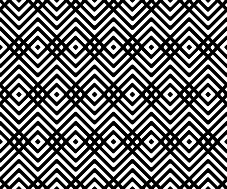 Seamless geometric pattern with rhombus