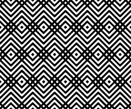 Seamless geometric pattern with rhombus