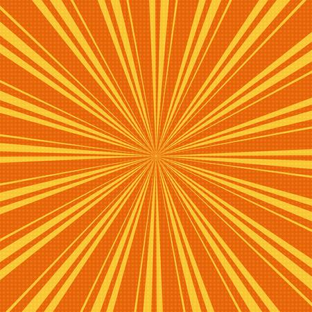 Grunge sunburst vector illustration