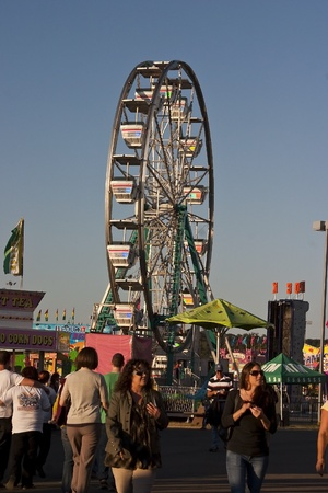 State Fair of Virginia 2011 Midway Attractions.