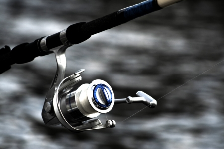 Fishing Reels Stock Photo