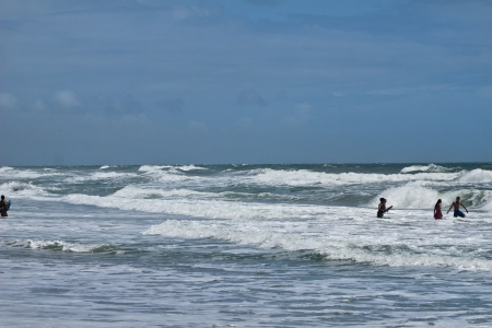 A summer surf in Florida photo