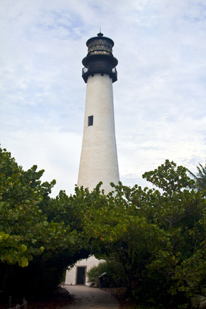 Cape Florida Lighthouse in Bill Baggs Florida Park, Key Biscayne