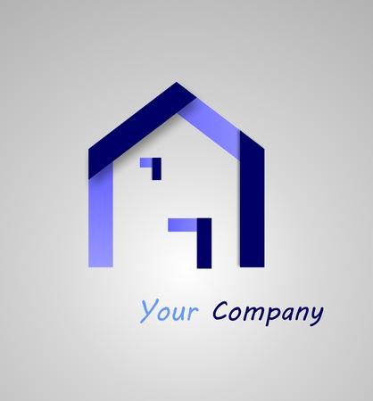 house logo: logo house Stock Photo