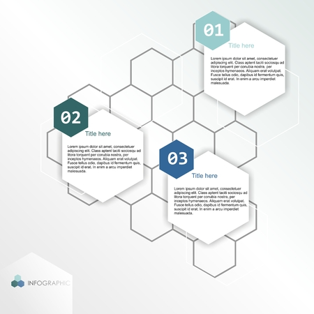 numbers abstract: infographic banner Stock Photo
