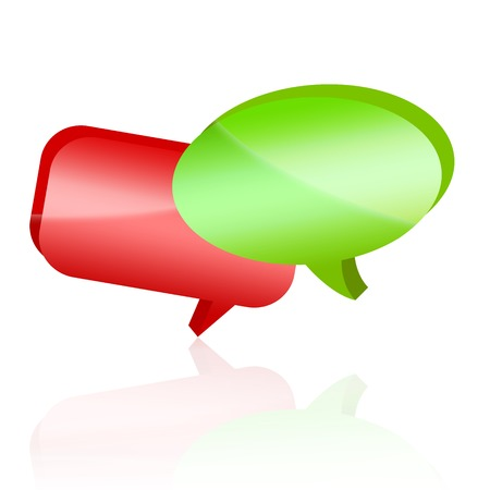 discussion forum: communication Stock Photo