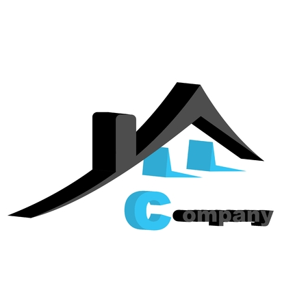 logo house Standard-Bild