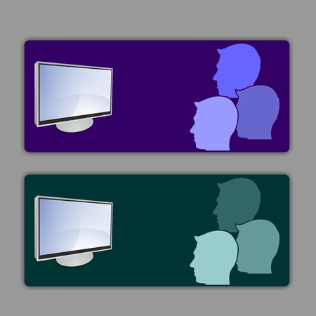 div: card television spectators