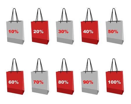 shopping set icon