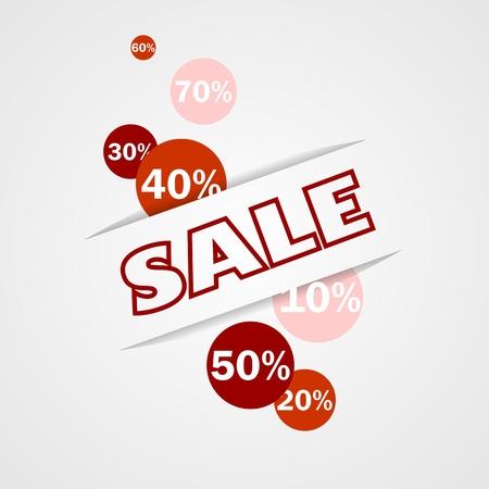 pricetag: Sale banner