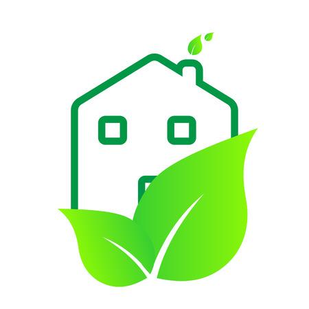 casa logo: questo � casa ecologia logo