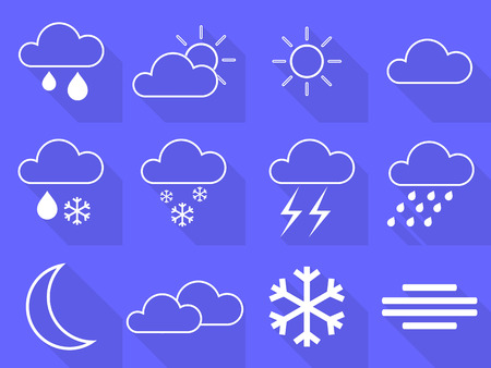 cold pack: This is set weather icons