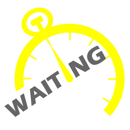 This is yellow waiting icon