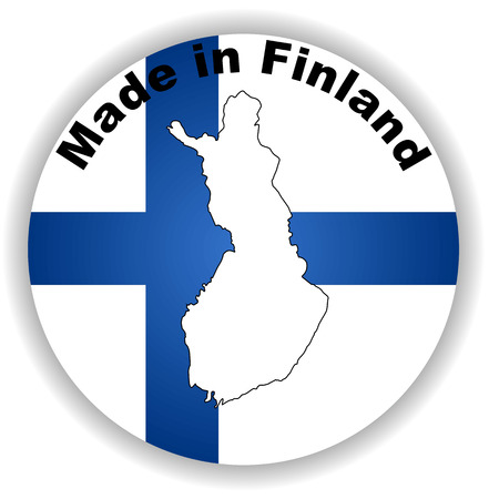 made in finland: This is vector made in finland Illustration