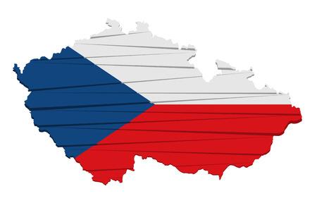 czech: This is modern flag czech republic