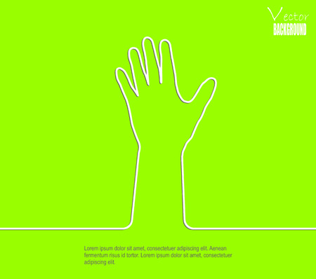profess: This is abstract background hand Illustration