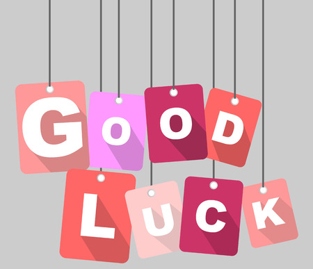 Dit is tag good luck Stockfoto - 41928217