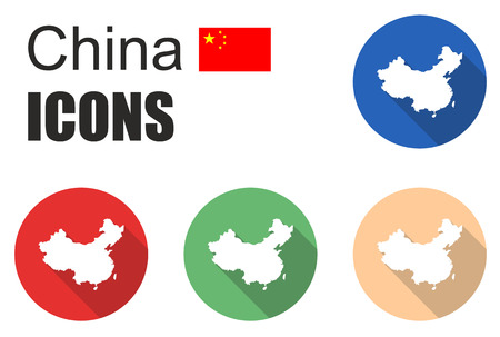 This is set china icons