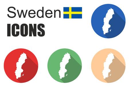 fiambres: Esto se establece iconos Suecia