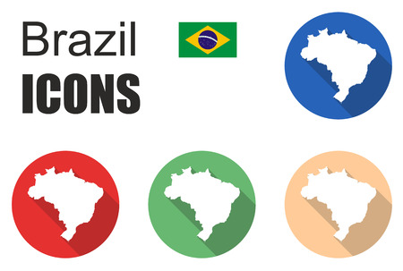 brazil country: This is set brazil icons