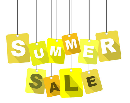 pricetag: This is tag summer sale