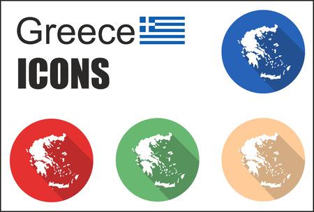 fiambres: Esto se establece iconos grecia