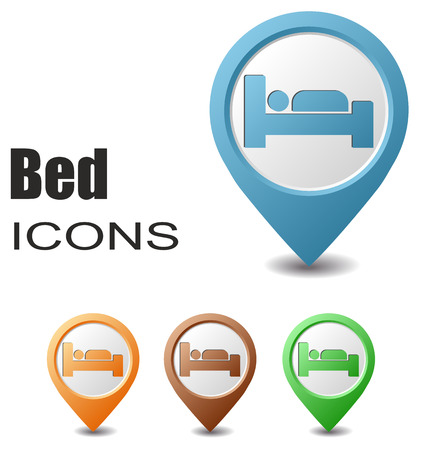 map pointers: This is set bed map pointers
