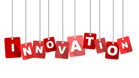innovation word: This si red tag innovation