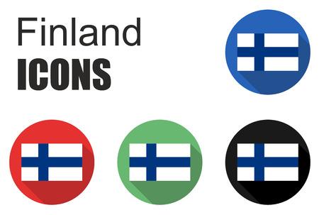 fiambres: Esto se establece iconos finlandia