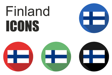 made in finland: This is set finland icons