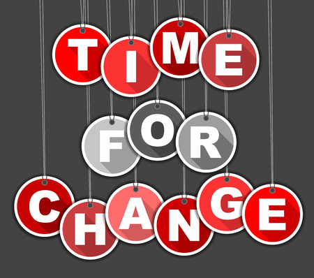 time change: This is tag time for change
