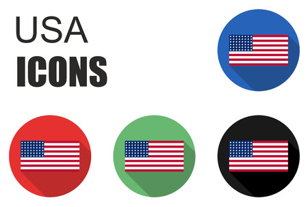cold pack: This is set usa flat icons