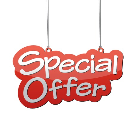 This is special offer background