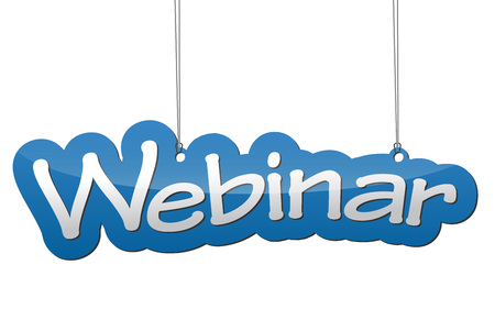 sender: This is blue background webinar