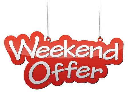 This is background weekend offer