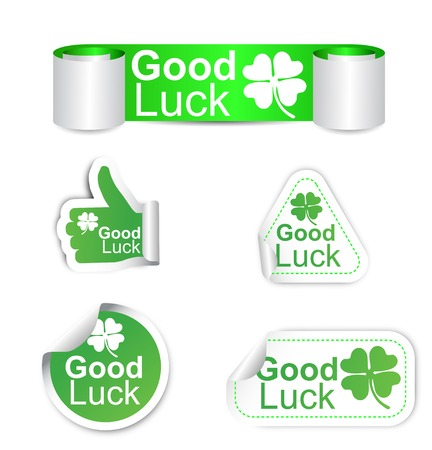 luckiness: This is set of stickers - good luck