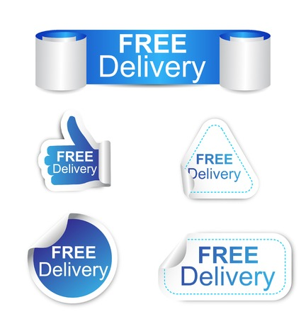 free sign: This is set of stickers - free delivery